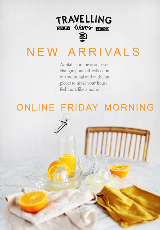 New Arrivals Friday Morning