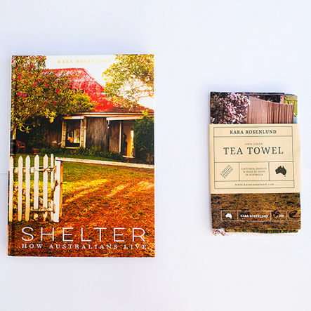 Shelter & Tea Towel